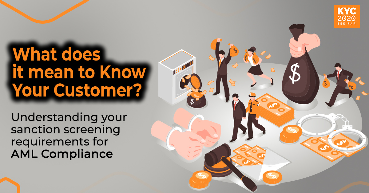 What does it mean to Know Your Customer?