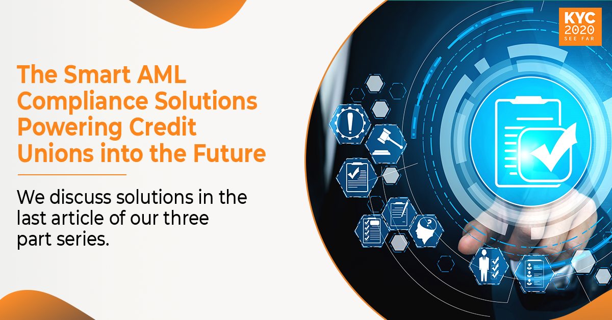 AML Compliance solutions for Credit Unions
