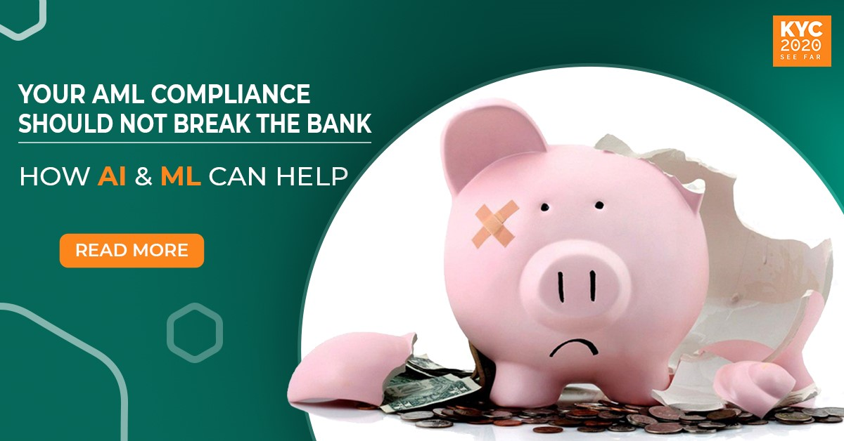 AML Compliance should not be so costly. How AI can help.