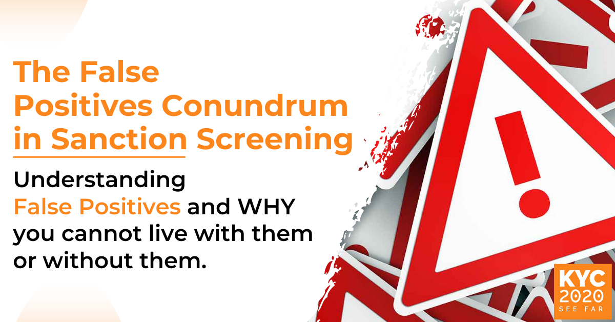 Solving The False Positives Paradox in Sanctions Screening