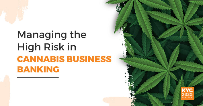 Managing The High Risk in Cannabis Business Banking